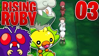 Pokemon Rising Ruby - EP 3 - Rising Ruby and Sinking Sapphire Playthrough