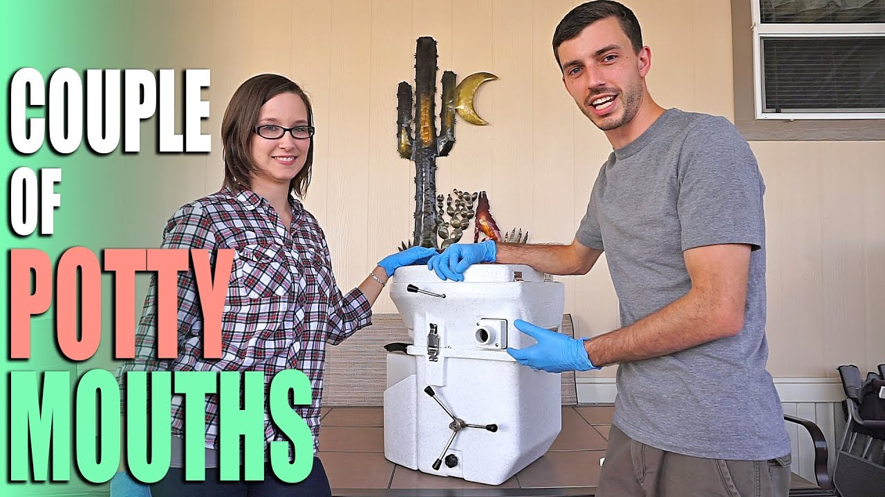 Nature\'s Head Composting Toilet Review - Full Time RV Living - YouTube