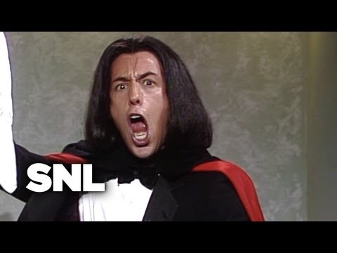 Adam Sandler As Opera Man - Saturday Night Live