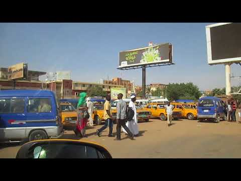 Sudan Khartoum city 01 from taxi