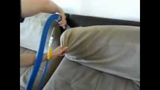 Chair, Couch & Car Seat Steam Cleaning Kit - Steam Clean It Yourself & SAVE