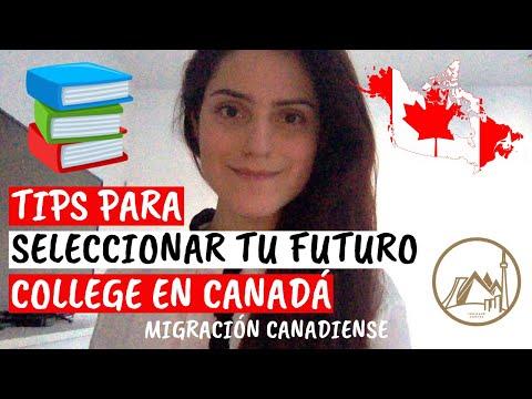 ¿Como seleccionar el College para estudiar en Canadá?