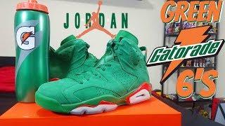822db5e94622 Jordan 32 Low Gatorade On Feet