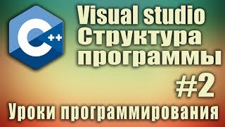 Структура и порядок выполнения программы. #Include. using namespace. C++ для начинающих. Урок #2.