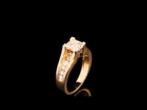 princess-cut-diamond-engagement-ring-&-wedding-band-set-1/2-carat-in-10k-yellow-gold