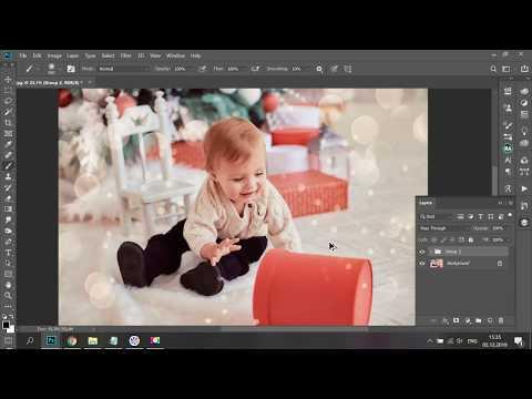 Как добавить боке на фото в Фотошоп (Photoshop)