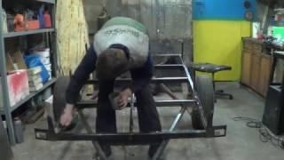 видео ремонт прицепов