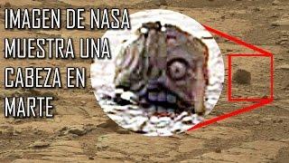 Imagen de NASA muestra una cabeza en marte