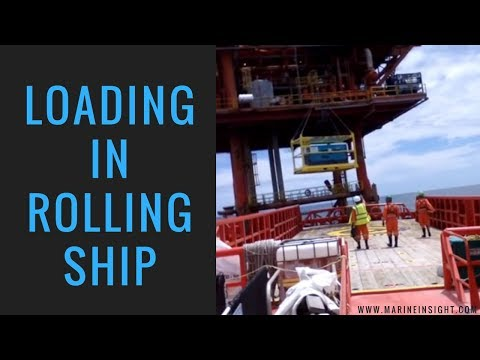 Loading in Rolling Ship