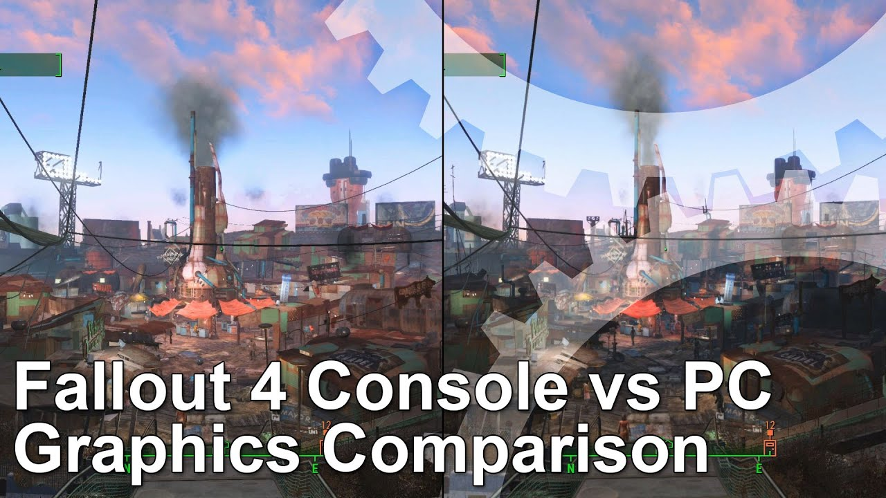 Fallout 4 console vs pc graphics comparison youtube - What consoles will fallout 4 be on ...