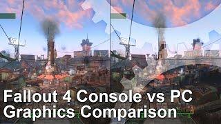 Fallout 4 Console vs PC Graphics Comparison