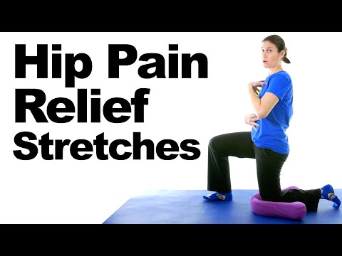 Hip Pain Relief Stretches – 5 Minute Real Time Routine