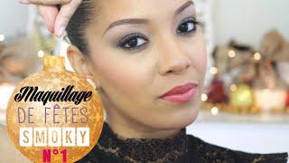 """♡TUTORIEL: Maquillage de Fête 1 """"Le Smoky"""" (Noël, nouvel an, soirée) Thumbnail"""
