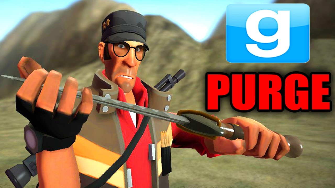 gmod the purge murder everyone garry s mod scary hunger games
