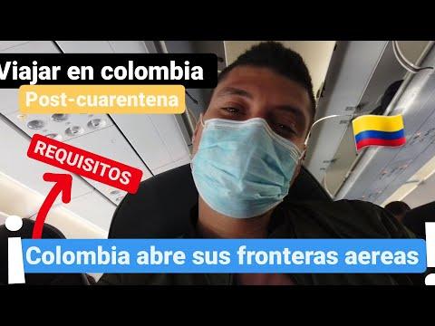Requisitos Para viajar a COLOMBIA post-cuarentena/REAPERTURA de vuelos en COLOMBIA