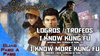 Video de Shenmue HD | Logros / Trofeos: I know kung fu y I know more kung fu