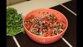 """Салат """"Тбилиси"""".Очень вкусный рецепт!"""