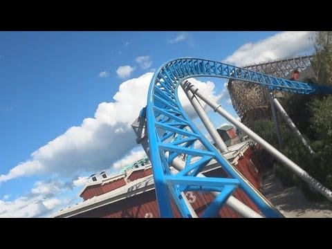 Blue Fire Megacoaster (On-Ride) Europa Park
