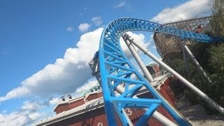Blue Fire Megacoaster (On-Ride) Europa Park