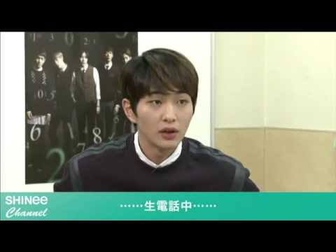 150312 Can I Get Your Number?「SHINee CHANNEL」