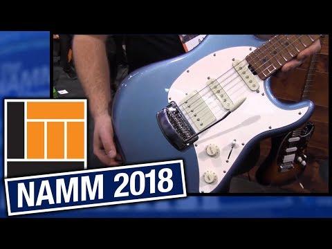 L&M @ NAMM 2018: Ernie Ball Music Man Cutlass RS Guitar