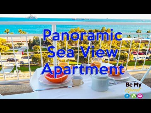 SHORT TERM RENTAL - Tour Of Panoramic Sea View Apartment In Limassol, Cyprus