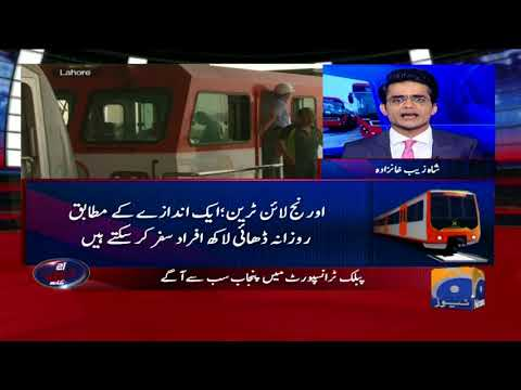 Aaj Shahzeb Khanzada Kay Sath - 18 May 2018 - Geo News