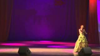 Ксения Беликова - Один раз в год сады цветут(Видео с юбилейного концерта вокальной студии
