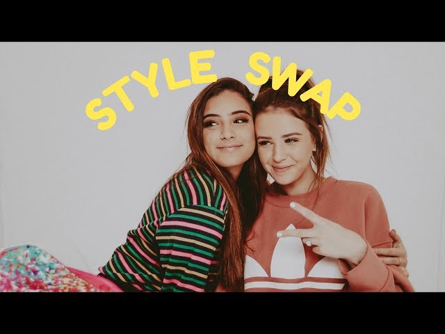 turning my big sister into me... | STYLE SWAP