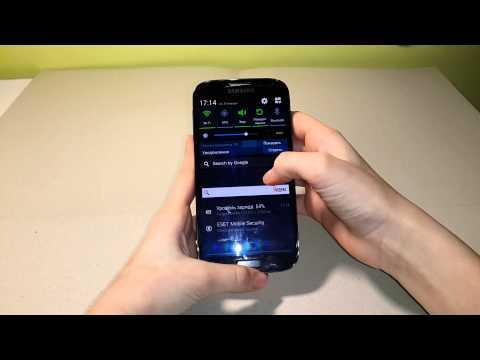 Как сделать скриншот екрана  Galaxy S4