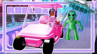 Bloxburg Familie: Als GOLF CART Uber Fahrer ruiniert mein Leben... Ep 5 (Roblox Rollenspiel Film)