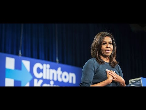 Michelle Obama's Speech On Trump's Sexual Behavior 10/13/2016 [FULL HD]