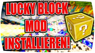 MINECRAFT: LUCKY BLOCK MOD + ADDONS INSTALLIEREN (Minecraft 1.8)! ▪ Tutorial (Deutsch/HD)
