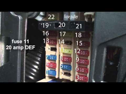 fuse diagram nissan versa youtube Nissan Np200 Fuse Box nissan np200 – new nissan np200 for