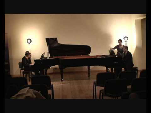 Prokofiev - Cinderella (3/5 Spring) - Macha Kanza and Matthieu Cognet, pianos