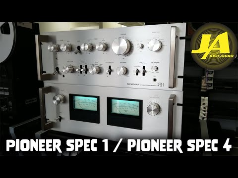 All About The Pioneer Spec 1 Preamplifier & Spec 4 Amplifier Vintage HiFi Review