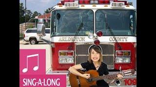 Kids Songs Fire Truck! by Alina Celeste - Learn English