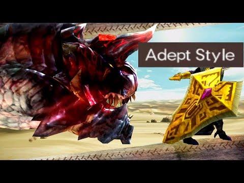 [MHGU] Adept Charge Blade fun with Hyper Glavenus!