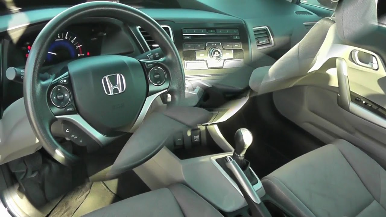 Charming 2013 HONDA CIVIC LX COUPE