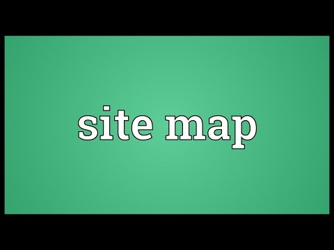 site-map-meaning