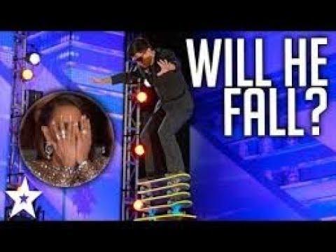 Best balancing act ever on a Got Talent Series