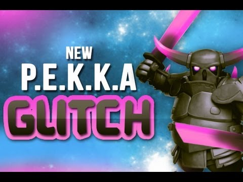 Clash of Clans - THIS IS NOT A PEKKA GLITCH!