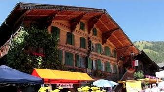 Pays d'Enhaut Tourisme, Marché villageois de Rougemont, Vaud, Suisse