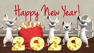 Happy New Year 2020 🐭Funny Happy New Year of the Rat