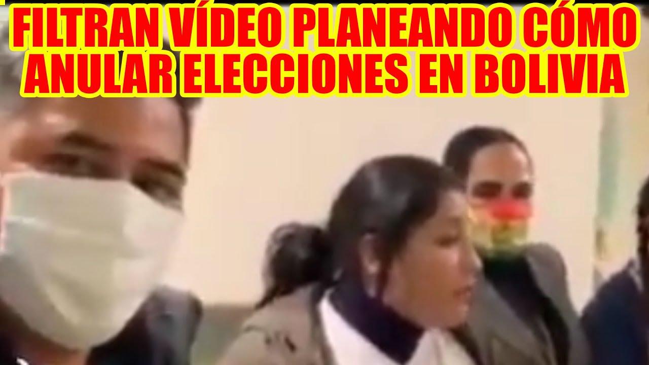 FILTRAN VÍDEO PLANEANDO ANULAR LAS ELECCIONES EN BOLIVIA DONDE SE VE A LA SENADORA CARMEN GONZALES