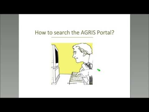 Webinar@ASIRA: AGRIS: Providing Access to Agricultural Research and Technology Information