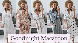 Summer 2019 Dress Try On with Goodnight Macaroon | Affordable Summer Outfits