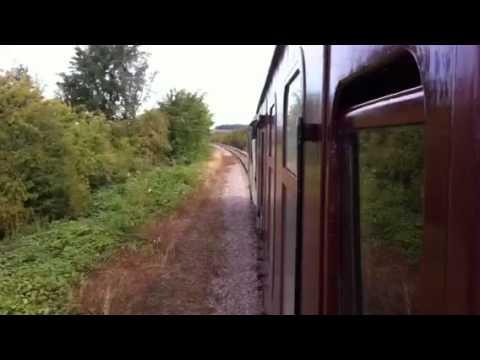 D7629 Sulzer sound. Great Central Railway Nottingham sept 13 2015