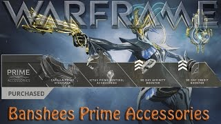 Warframe - Banshees Prime Accessories