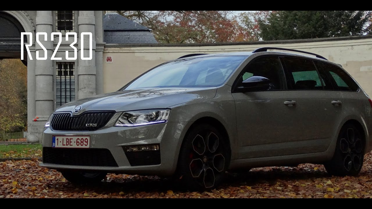 skoda octavia combi rs 230 acceleration 60 150 km u 37 93 mph in 3th gear youtube. Black Bedroom Furniture Sets. Home Design Ideas